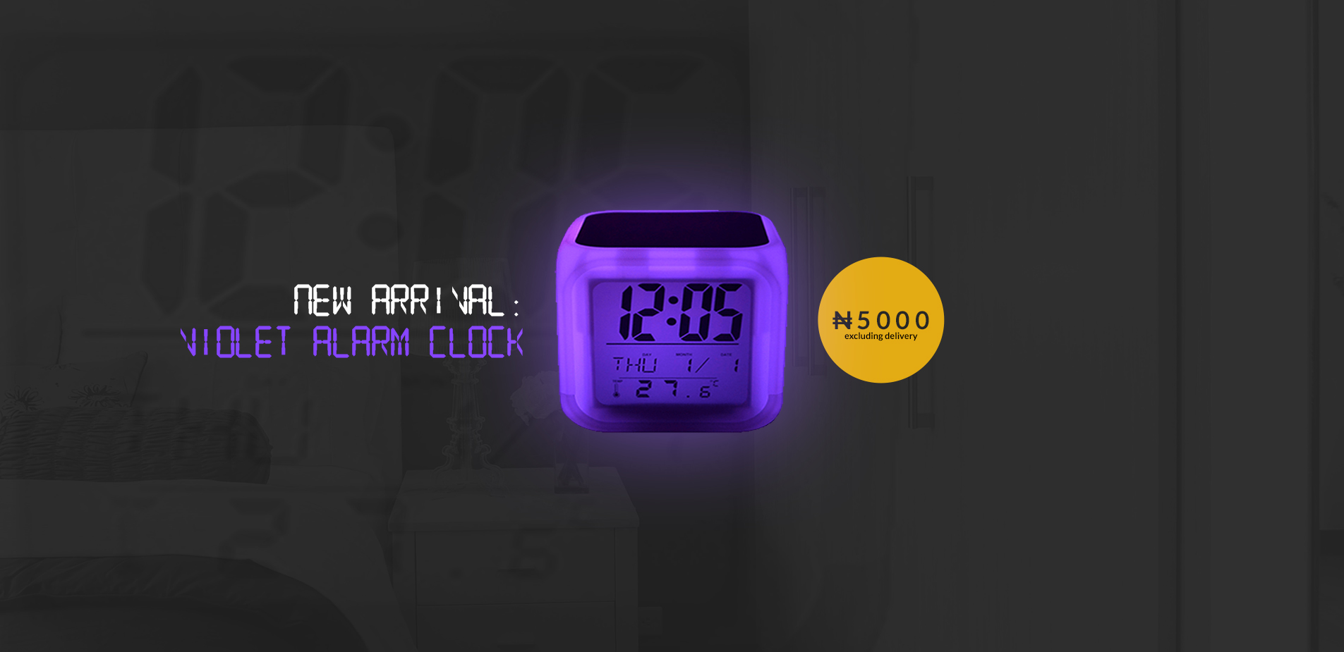 Web Slide SPECIAL - Alarm Clock