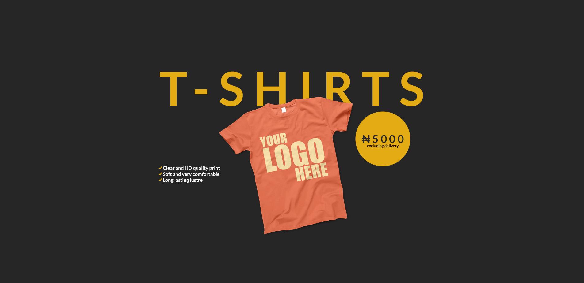 Web Slide - Shirts