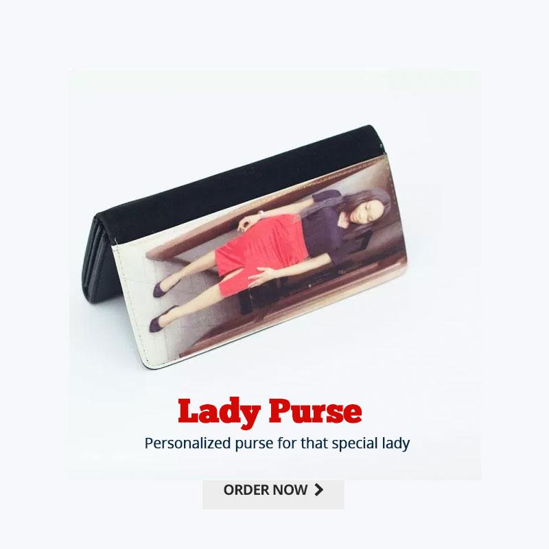 Customized lady purse